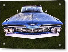 Chevrolet Acrylic Print by Jerry Golab