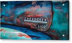 Chevrolet Truck Side Emblem -0842c2 Acrylic Print