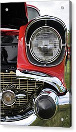 Acrylic Print featuring the photograph Chevy Bel Air by Glenn Gordon