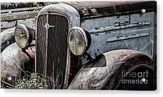 Chevy Grill IIi Acrylic Print