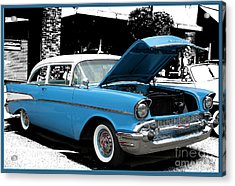 Acrylic Print featuring the photograph Chevy Love by Victoria Harrington