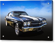 Chevy Muscle Acrylic Print