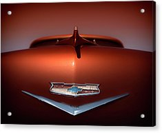 Chevy Nomad Acrylic Print by Larry Helms