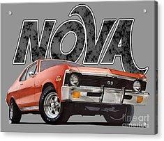 Chevy Nova Acrylic Print