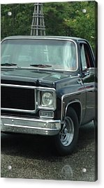 Chevy Vintage Truck Acrylic Print