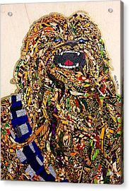 Chewbacca Star Wars Awakens Afrofuturist Collection Acrylic Print