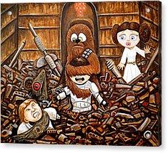 Chewie Get Off My Me You Big Furry Oaf Acrylic Print