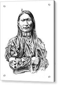 Cheyenne Man Acrylic Print