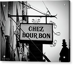 Chez Bourbon  Acrylic Print by Shelly Stallings