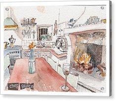 Chez Gwen Acrylic Print