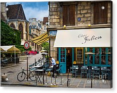 Chez Julien Acrylic Print by Inge Johnsson