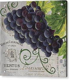 Vins De Champagne 2 Acrylic Print