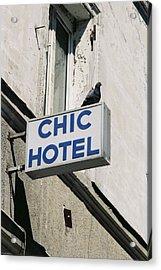 Chic Hotel Acrylic Print