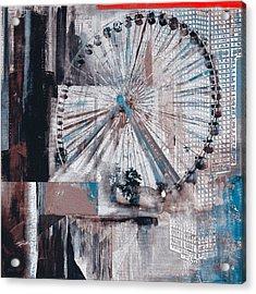 Chicago 211 2 Acrylic Print by Mawra Tahreem