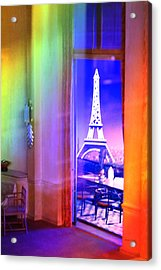 Chicago Art Institute Miniature Paris Room Pa Prismatic 08 Vertical Acrylic Print by Thomas Woolworth