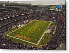 Chicago Bears Soldier Field 7795 Acrylic Print