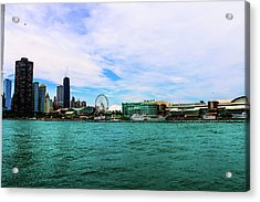 Chicago Blue Acrylic Print
