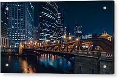 Chicago Blue II Acrylic Print