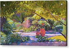 Chicago Botanic Garden Acrylic Print