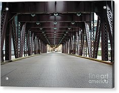 Chicago Bridges Acrylic Print