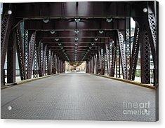 Chicago Bridges Acrylic Print