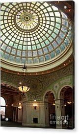 Chicago Cultural Center Dome Acrylic Print