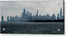 Chicago From Belmont Harbor Acrylic Print