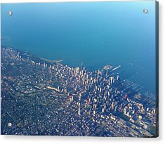 Chicago From Way Up Acrylic Print by Jacob Stempky