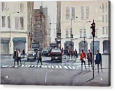 Chicago Impressions Acrylic Print by Ryan Radke