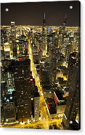 Chicago Is Always Alive Acrylic Print by Shawn Everhart