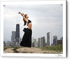 Chicago Acrylic Print by JR Harke Photography