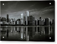 Chicago Lake Front Acrylic Print
