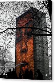 Chicago Love Acrylic Print by Josy Cue