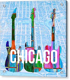 Chicago Music Scene Acrylic Print