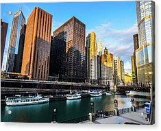 Chicago Navy Pier Acrylic Print