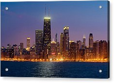 Chicago Panorama Acrylic Print by Donald Schwartz