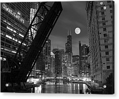 Chicago Pride Of Illinois Acrylic Print by Frozen in Time Fine Art Photography