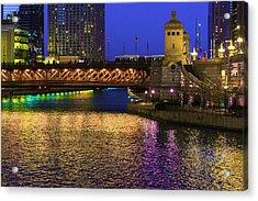 Chicago River Ver2 Acrylic Print