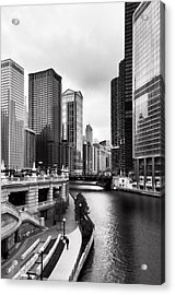 Chicago Riverview Acrylic Print