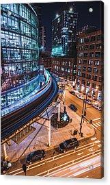 Chicago S Train Acrylic Print