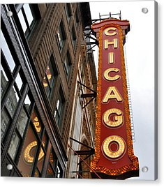 Acrylic Print featuring the photograph Chicago by Sheryl Thomas