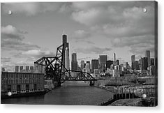 Chicago Skyline 2 Acrylic Print