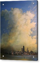 Chicago Skyscraper Acrylic Print by Tom Shropshire