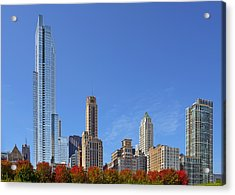 Chicago The Beautiful Acrylic Print by Christine Till