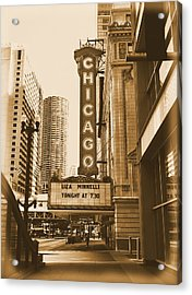 Chicago Theater - 3 Acrylic Print