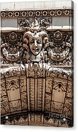 Chicago Theater Jester Acrylic Print