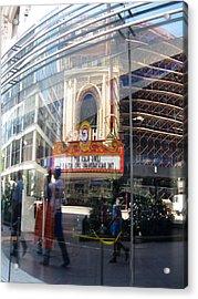 Chicago Acrylic Print by Tom Hefko