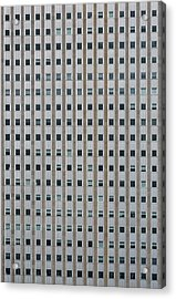Chicago Windows Acrylic Print by Steve Gadomski