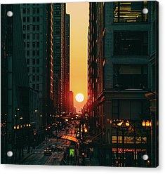 Chicagohenge Acrylic Print