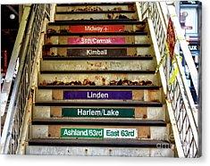 Chicagoland Destinations Acrylic Print